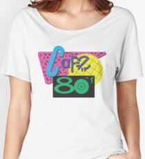 Back To The Cafe 80's Women's Relaxed Fit T-Shirt