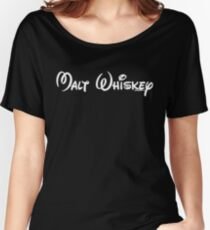Malt Whiskey Women's Relaxed Fit T-Shirt
