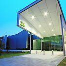 NATSEM   Ann Harding Conference Centre, University of Canberra by buildings
