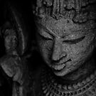 The Digpaal - Guard of Direction - B&W by Biren Brahmbhatt