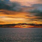 Sunset At The Beach - California by Adam Adami