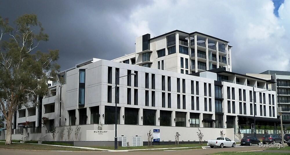 Burbury Hotel, Canberra by buildings