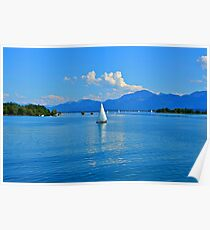 Lake Chiemsee Germany Poster