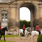 Rider-Living Horse Museum, Chantilly, France by Jenny Hambleton