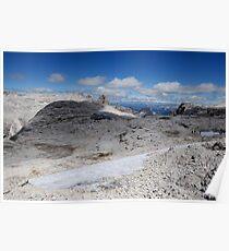 Dolomites - Rifugio Boè Poster