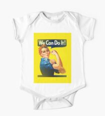 rosie the riveter One Piece - Short Sleeve