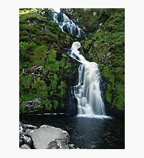 The Assarnacally Waterfall Photographic Print