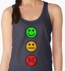Smiley Traffic Lights - Green For Go Women's Tank Top