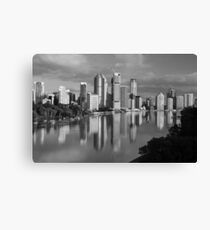 Brisbane River and City. Queensland, Australia. (2) Canvas Print