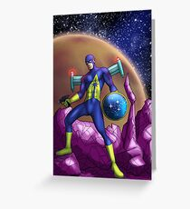 Captain Federation! Greeting Card