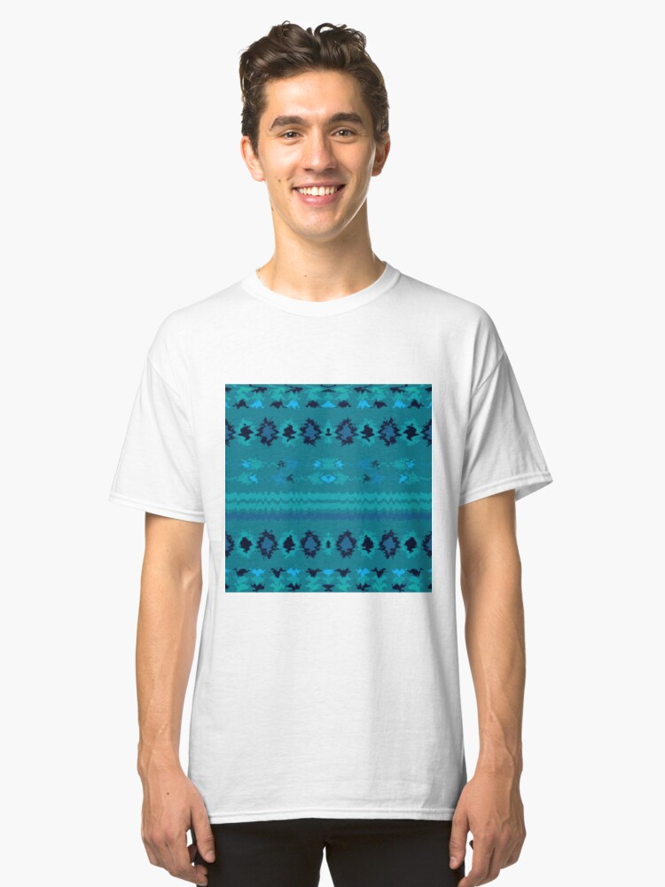 Alternate view of Turquoise Nava Classic T-Shirt