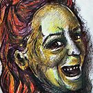 Smiley Me - DreddArt Self Portrait by DreddArt