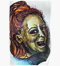 Smiley Me - DreddArt Self Portrait Poster