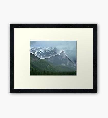 The High and the Mighty Framed Print