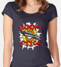 Boom Stick Women's Fitted Scoop T-Shirt