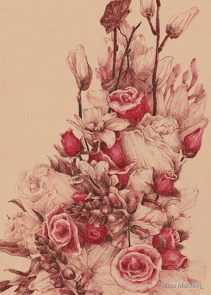 Flowers II by Mina Marković