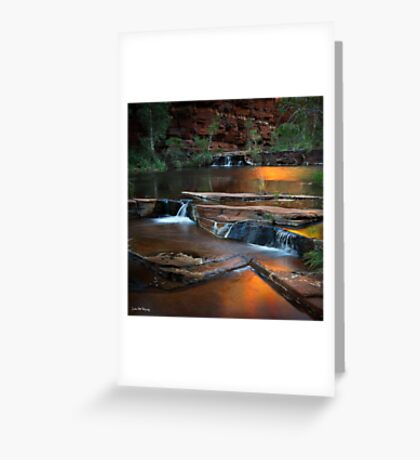 Dales Gorge - Karijini National Park Greeting Card