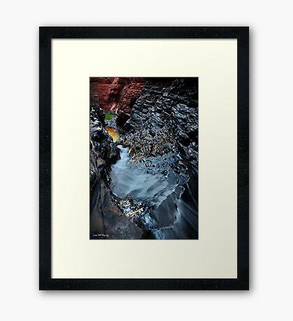 The Chute Framed Print