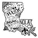 Louisiana von Corey Paige Designs