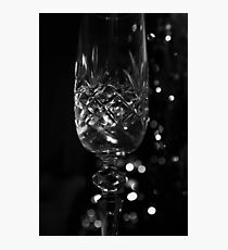 Midnight Champagne Photographic Print