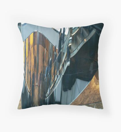 Escalators Throw Pillow