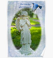You are my special angel! Poster