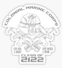 Class of 2122 (Navy) Sticker