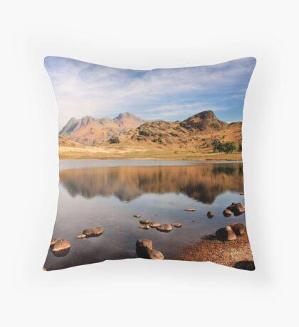 Lake District Tarn Throw Pillow