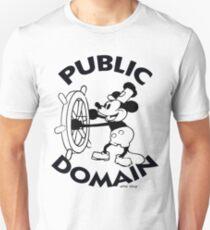 Public Domain Unisex T-Shirt