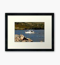 Cruiser at Killary Harbour, Ireland Framed Print