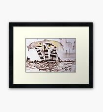 9/11 In God We Trust Framed Print