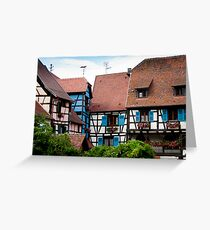 Eguisheim The Beautiful 3 Greeting Card