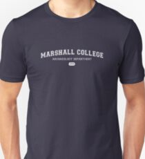 Marshall College Archaeology Department Unisex T-Shirt