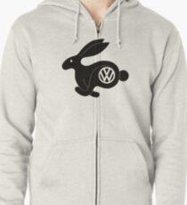 Rabbit Zipped Hoodie