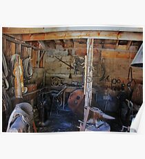 The Blacksmiths Shop Poster