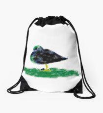 Sleeping Duck Drawstring Bag