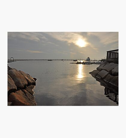 Morning at Plymouth Harbor Photographic Print