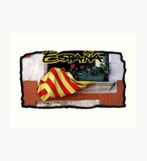 Espana Postcard Art Print