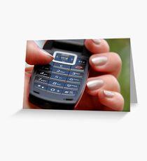 Dial Greeting Card