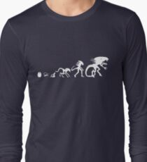 Alien Evolution Long Sleeve T-Shirt