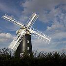 Pakenham Windmill, Suffolk. by BizziLizzy