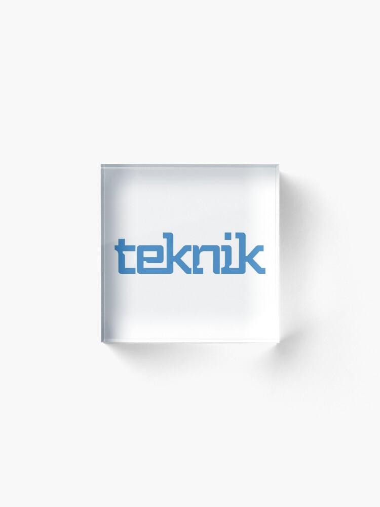 Alternate view of Teknik Logo Acrylic Block