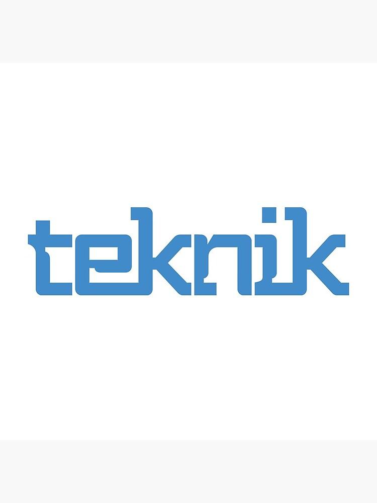Teknik Logo by Teknikio