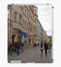 City life in Sarajevo iPad Case/Skin
