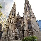 St. Patrick's Cathedral, New York City  by DearMsWildOne