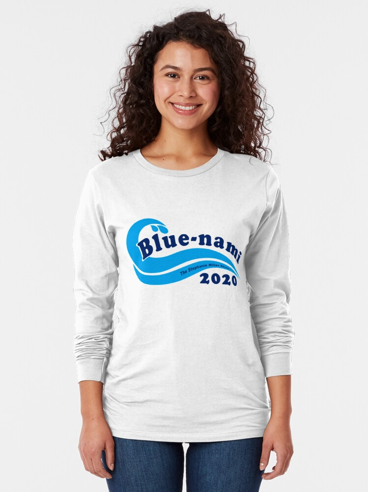 Alternate view of Blue-nami 2020 Long Sleeve T-Shirt