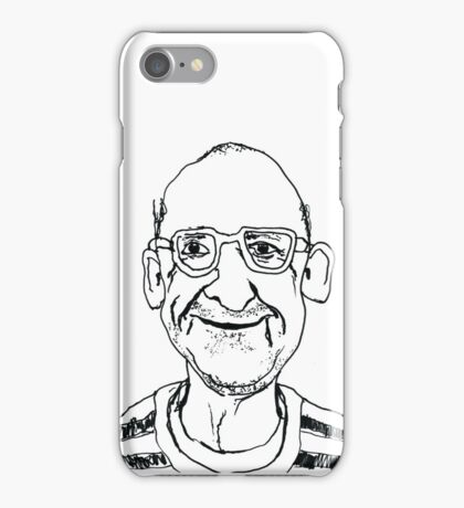 Portrait of an old man iPhone Case/Skin