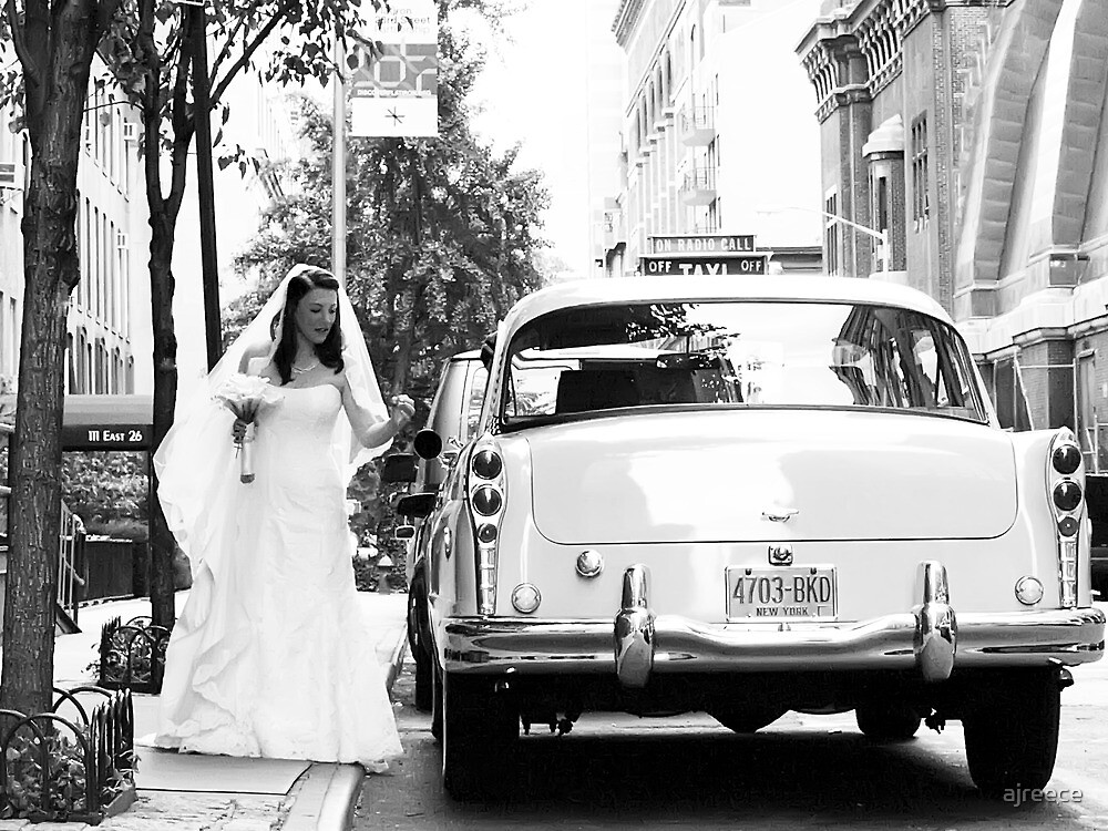 A Classic Bride in New York by ajreece