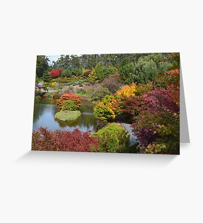 Autumn in Tasmania Greeting Card