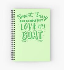 Smart, Sassy und völlig lieben meine GOAT Spiralblock